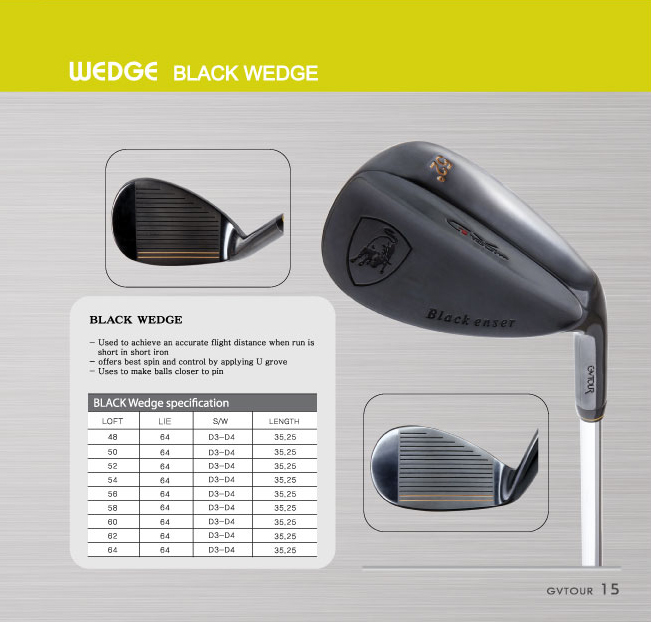 [Wedge] Black Wedge